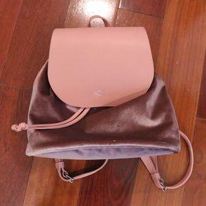 NWT Kova Pink Velvet Backpack